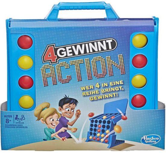 Hasbro Spiel, »4 gewinnt Action«