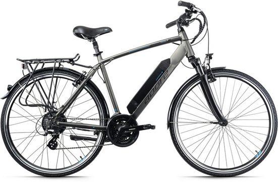 Adore E-Bike »Ancona«, 24 Gang Shimano Altus Schaltwerk, Kettenschaltung, Heckmotor 250 W