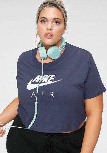 Nike Sportswear T-Shirt »WOMEN TOP SHORTSLEEVE PLUS SIZE« In großen Größen