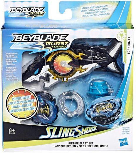 Hasbro Speed-Kreisel »Beyblade Burst Turbo Slingshock Riptide Blast Set«