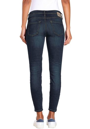 GANG Skinny-fit-Jeans »Faye« im Flanking-Style