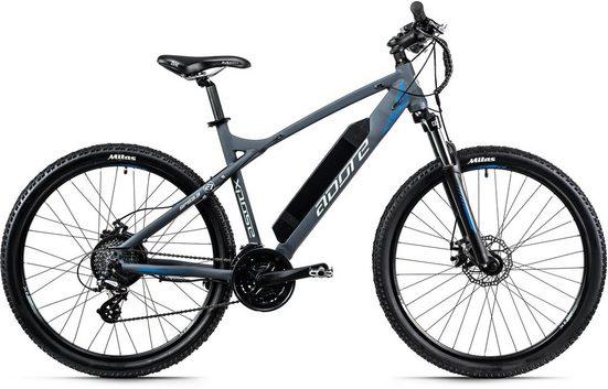 Adore E-Bike »XPOSE«, 24 Gang Shimano Altus Schaltwerk, Kettenschaltung, Heckmotor 250 W