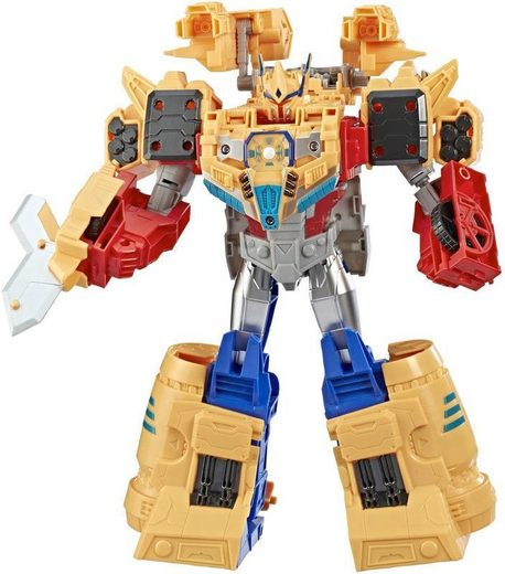Hasbro Actionfigur »Transformers Cyberverse Spark Armor Ark, Power Optimus Prime«