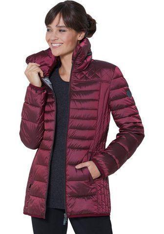 CASUAL LOOKS Wega Fashion Куртка стеганая с драпиро...