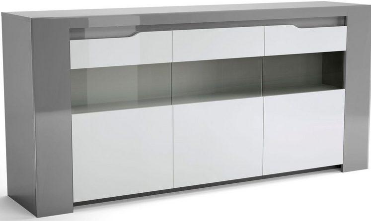 Home affaire Buffet »Orlando« mit schöner Beleuchtung und schicken Glastüren, Breite 180 cm