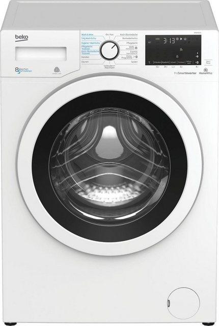 BEKO Waschtrockner WDW 85142, 8 kg/5 kg, 1400 U/Min