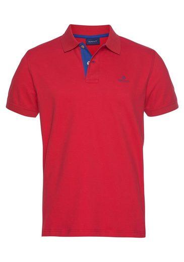 Gant Poloshirt formstabil durch Elasthan