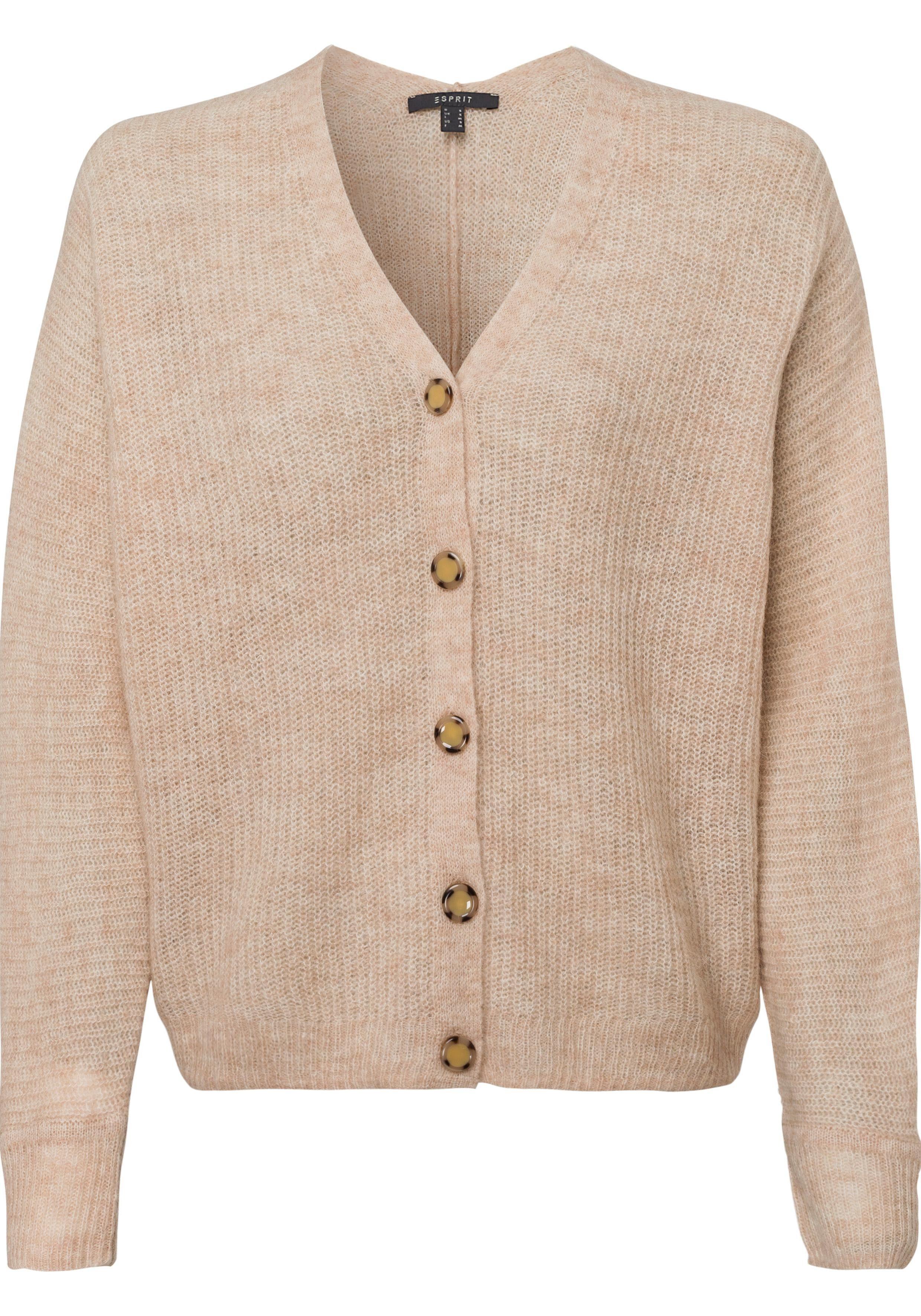 Esprit Collection Strickjacke mit Fledermausärmeln und Bündchen online kaufen | OTTO