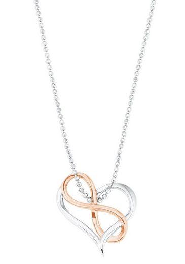 Amor Kette mit Anhänger »Herz mit Infinity/Unendlichkeitsschleife, 2026251«