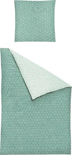 Bettwäsche »Nubis 8122«, Irisette, mit grafischem Muster