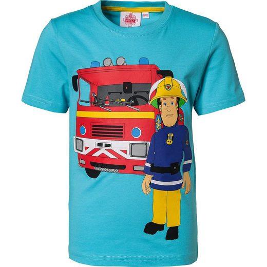 Feuerwehrmann Sam T-Shirt für Jungen