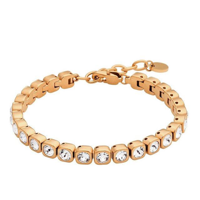 Heideman Armband »Amilla 3«, Tennisarmband mit Swarovski Stein weiß Gliederarmband | Schmuck > Armbänder > Tennisarmbänder | Heideman