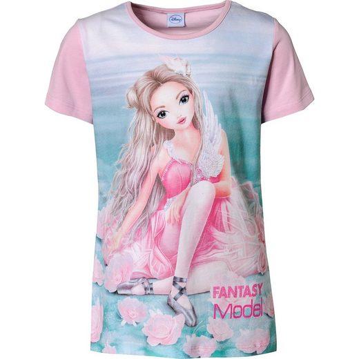 Fantasy Model T-Shirt für Mädchen