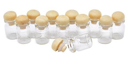 "VBS Mini-Glasflaschen ""Flaschen-Minis"" 12 Stück"