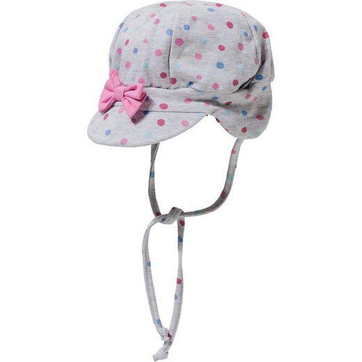 Sterntaler® Baby Schirmmütze mit UV-Schutz 50+ zum Binden für Mädchen