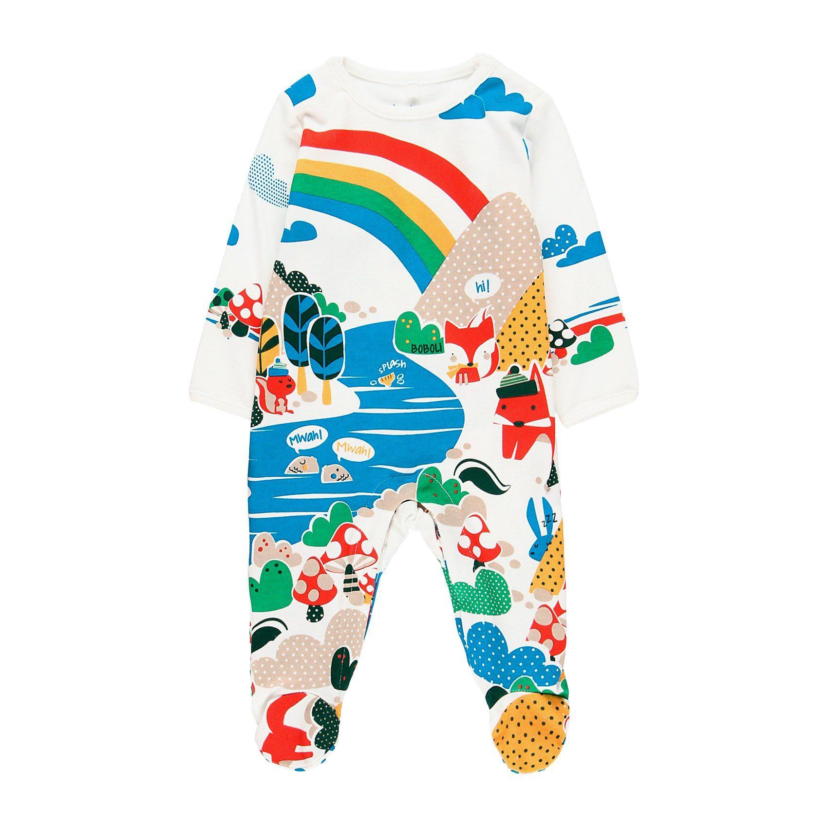 Baby Velour Nicki Schlafanzug Strampler Einteiler mit Fuss Mädchen wie Samt