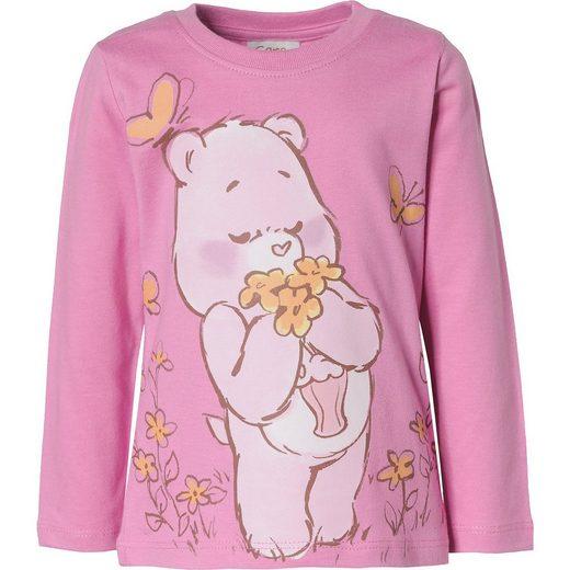 Die Glücksbärchis Baby Langarmshirt für Mädchen, Organic Cot