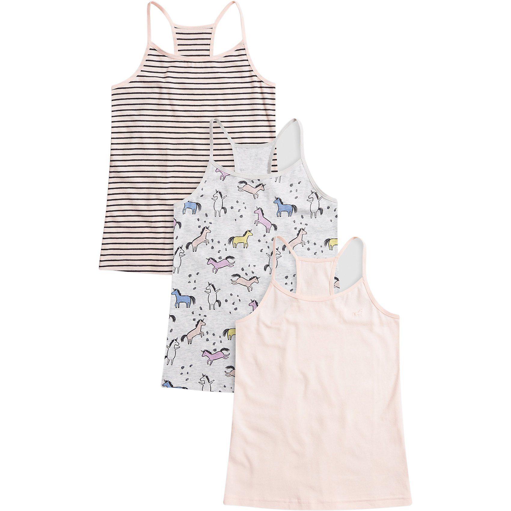 Mädchen Nici Set Shorts und T-Shirt weiß rosa I Love Candies
