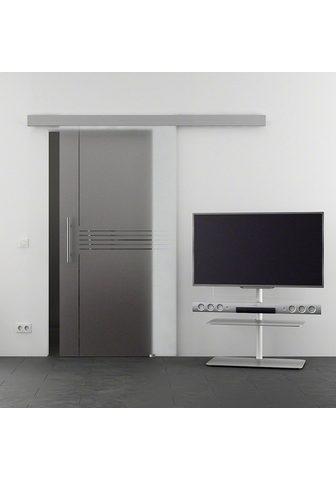 GLASTÜRKONTOR HAMBURG Stiklinės stumdomos durys »Eco Idea« s...