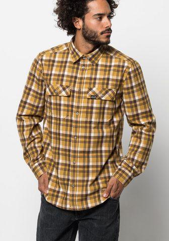 JACK WOLFSKIN Languoti marškiniai »BOW VALLEY SHIRT«...