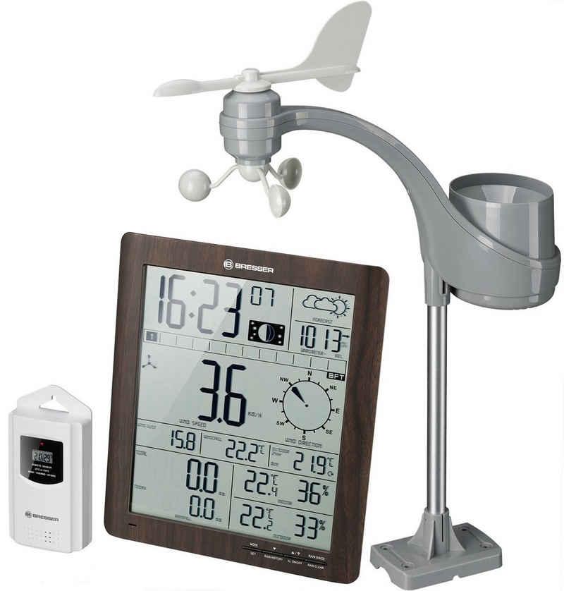 BRESSER Wetterstation »ClimaTemp XXL Wetter Center mit Außensensor«