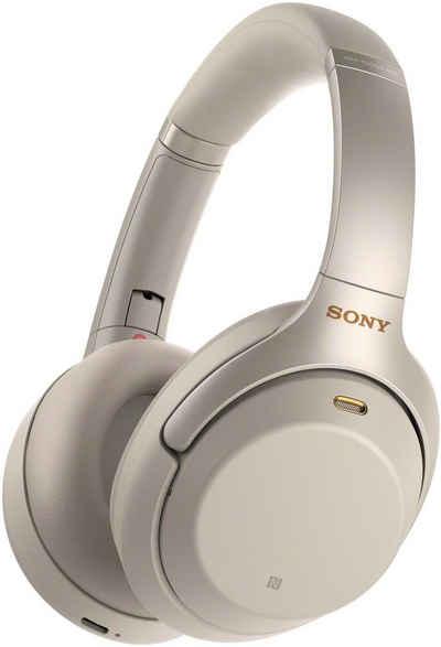 Sony »WH-1000XM3« Over-Ear-Kopfhörer (Bluetooth, NFC, Noise Cancelling, High Resolution Audio, Mikrofon, Touch Sensor, Schnellladefunktion, NFC)