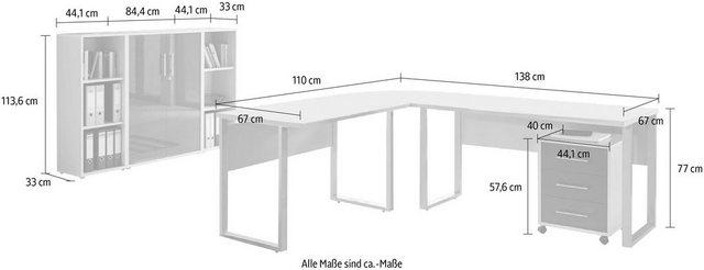 Büromöbel Sets - Büro Set »Tabor Office 2«, (Set, 6 tlg)  - Onlineshop OTTO