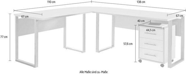 Büromöbel Sets - Büro Set »Tabor Office 0«, (Set, 2 tlg)  - Onlineshop OTTO