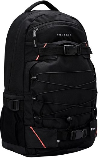 forvert Laptoprucksack »Study Louis, black«