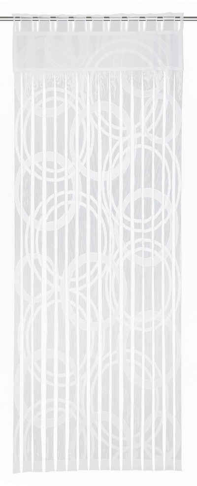 Fadenvorhang »Rügen«, WILLKOMMEN ZUHAUSE by ALBANI GROUP, Stangendurchzug (1 Stück), HxB: 220x95, Fadenstore