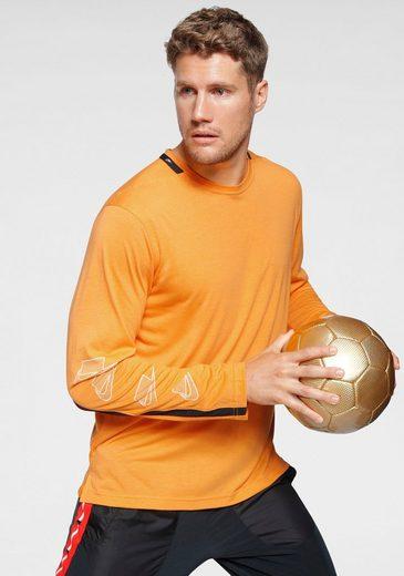 Nike Langarmshirt Kontrastdetails