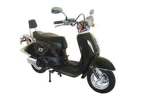 Motorroller, Nova Motors, »Milano 125 «, 125 ccm über 80 km/h, schwarz