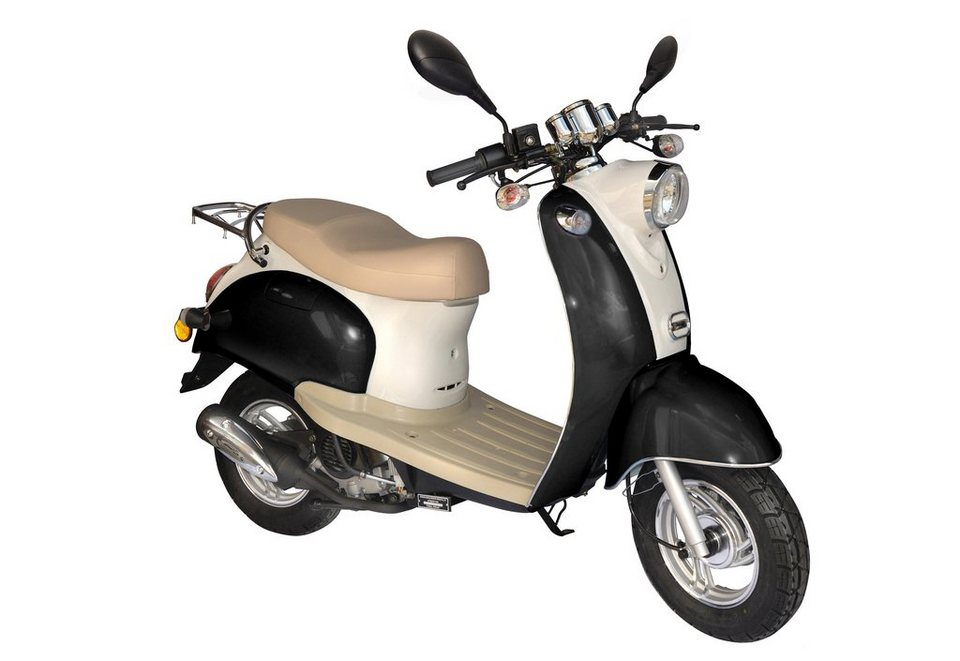 retro motorroller nova motors venezia ii mokick 50 ccm 45 km h online kaufen otto. Black Bedroom Furniture Sets. Home Design Ideas