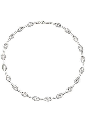 JOBO Collier 925 Silber gehämmert 45 cm