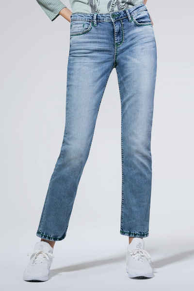 SOCCX 5 Pocket Jeans »RO:MY« mit Stretch Anteil