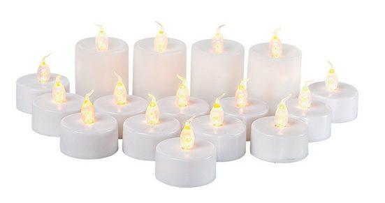 VBS Großhandelspackung LED Kerzen-Set