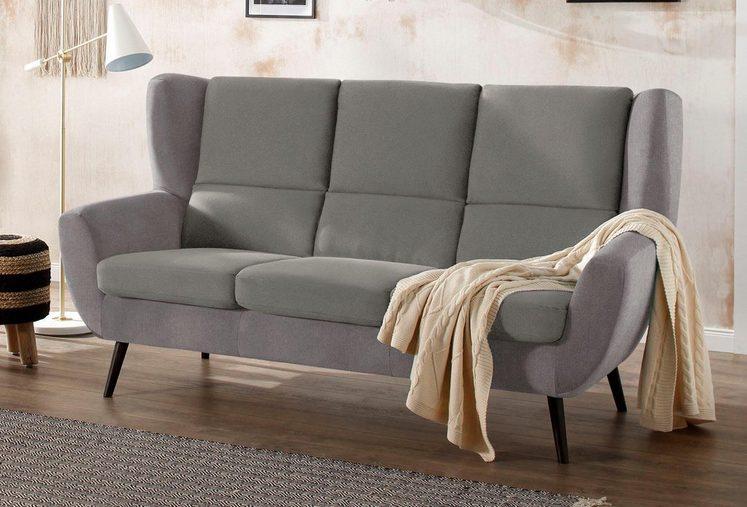 Home affaire 3-Sitzer »Forli«, auch in Echtleder