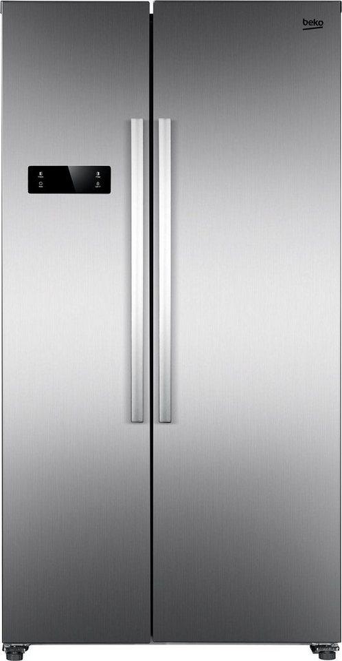 BEKO Side-by-Side GNO4321XP, 177 cm hoch, 90 cm breit online kaufen | OTTO