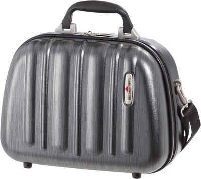 Hardware Beautycase »PROFILE PLUS, metallic grey brushed«