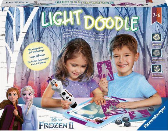 Ravensburger Kreativset »Light Doodle Frozen II«, Made in Europe