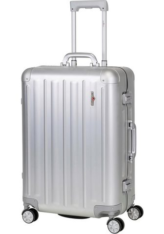 HARDWARE Plastikinis lagaminas ant ratukų