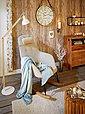 Teelichthalter, aus massivem Holz, weiß gewischt, Bild 3