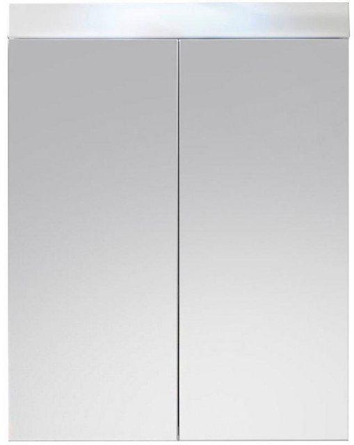 Spiegel - trendteam Spiegelschrank »Amanda« Breite 60 cm, wahlweise mit LED Beleuchtung, Badezimmerschrank mit 2 Spiegeltüren  - Onlineshop OTTO