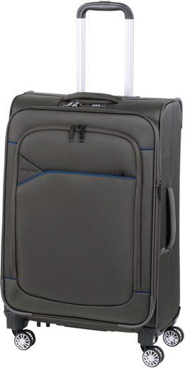 Hardware Weichgepäck-Trolley »SKYLINE 3000 M, ivy/dark blue«, 4 Rollen