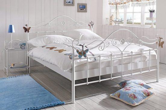 heine home Metall-Nachttisch im romantischen Stil
