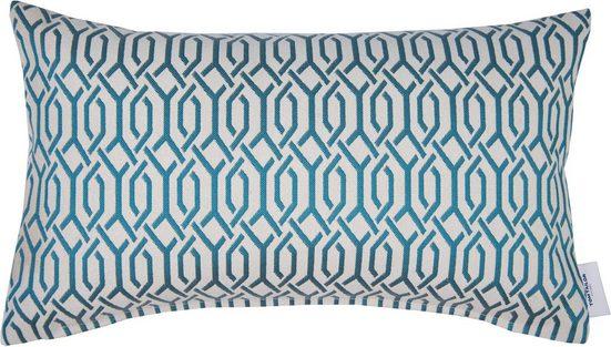 Kissenhülle »Plait Pattern«, TOM TAILOR (1 Stück), mit Muster