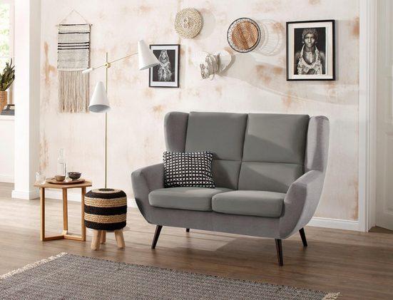 Home affaire 2-Sitzer »Forli«, auch in Echtleder
