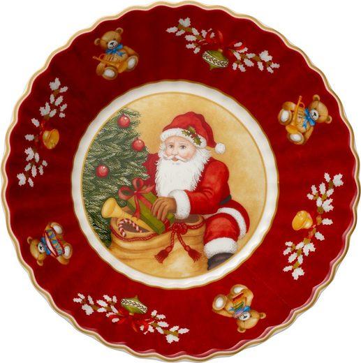 Villeroy & Boch Schale rund klein Toys Fantasy »Santa bringt Geschenke«