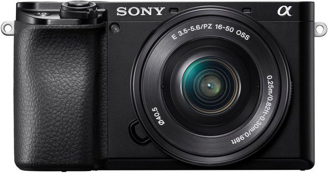 Systemkameras - Sony »Alpha 6100 Body« Systemkamera (24,2 MP, NFC, Bluetooth, WLAN (Wi Fi)  - Onlineshop OTTO