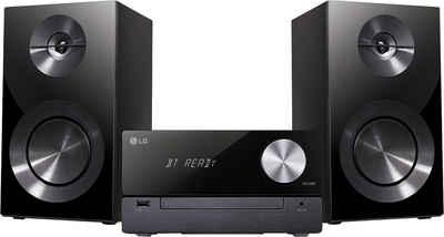 LG »CM2460DAB« Microanlage (Digitalradio (DAB), 100 W)
